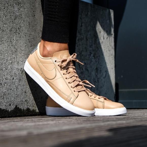 526d2d87cb2a2 Nike Shoes | Brand New Blazer Low Se Premium Vachetta Tan | Poshmark